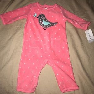 New with tags Carter's fleece 3m jumper outfit